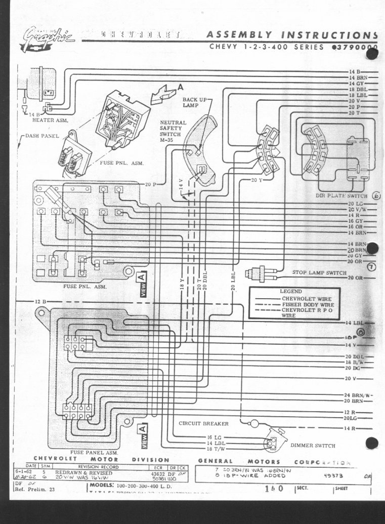 1966 Chevy Nova Wiring Diagram - Wiring Data