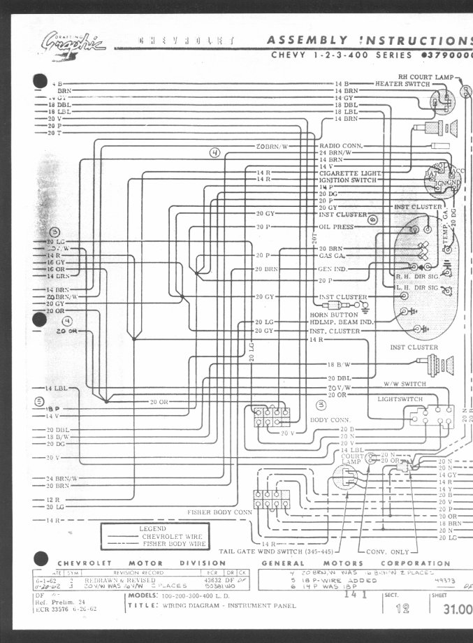 Wiring Diagrams | Chevrolet Nova Wiring Diagram |  | 63 Chevy II SS